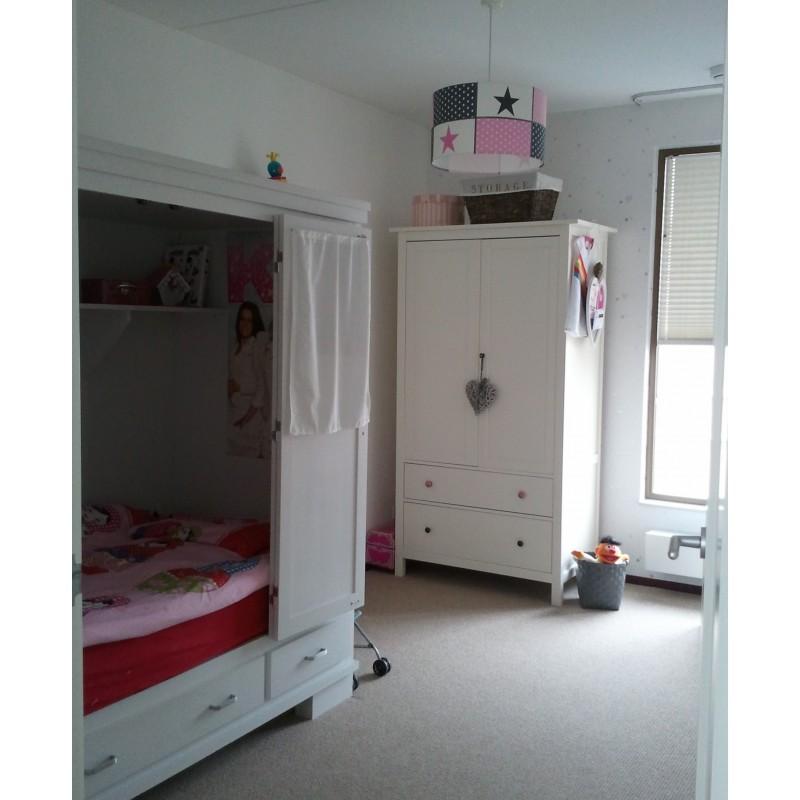 Grijs roze en wit byzepp - Gang wit en grijs ...