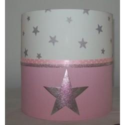 Roze, wit en zilver