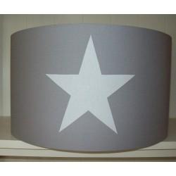 Grijs en witte ster
